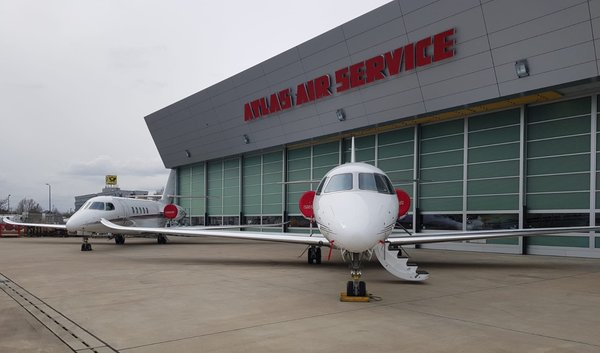 Atlas Air Service offers maintenance for Cessna Citation Latitude