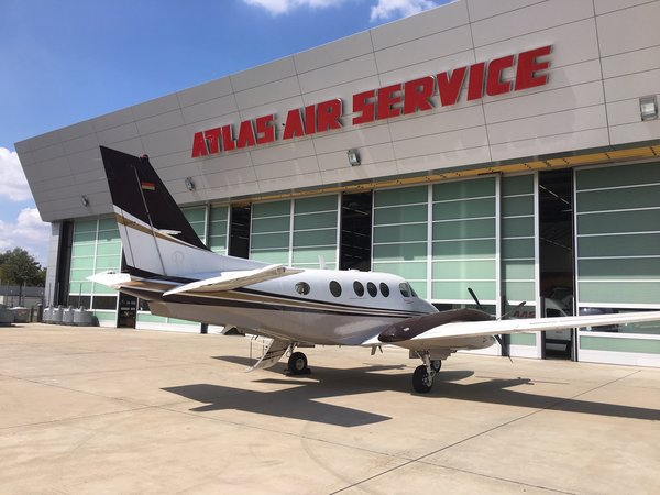 Atlas Air Service verkauft Beechcraft King Air C90 GTi in die USA