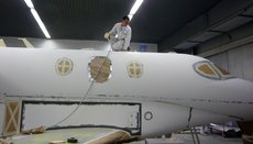 aircraft paint removal