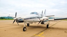 1993 King Air C90B with winglets